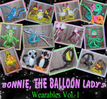 Balloon Sculpture Review: Hats of Bonnie The Balloon Lady Volume 1