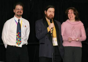 Balloon HQ receives the 2006 David Grist memorial award