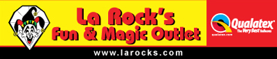 La Rock's Fun & Magic Outlet - for entertainers!
